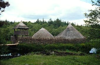Crannog Reconstruction
